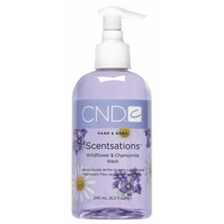 CND Scentsations Wildflower & Chamomile Wash