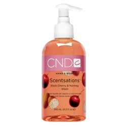 CND Scentsations Black Cherry & Nutmeg Wash