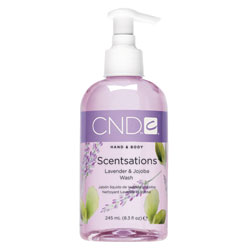 CND Scentsations Lavender & Jojoba Wash