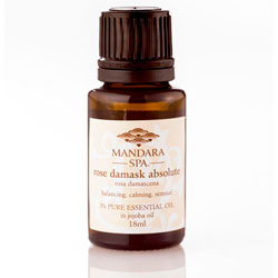 Mandara Spa Essential Oil -  Rose Damask Absolute 3 Percent