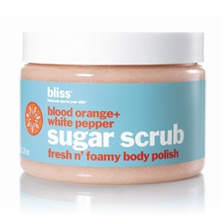 Bliss Blood Orange and White Pepper Sugar Scrub 12 oz