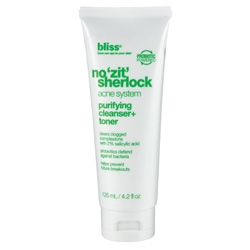 Bliss No Zit Sherlock Purifying Cleanser and Toner