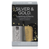 CND Sparkling Silver and Gold Effects Duo