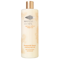 Mandara Spa Honeymilk Dream Softening Bath Milk