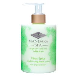 Mandara Spa Citrus Spice Conditioning Hand Lotion