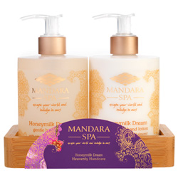 Mandara Spa Honeymilk Dream Heavenly Handcare