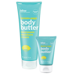 Bliss Lemon & Sage Body Butter & Travel Size 