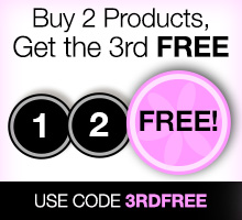 Buy 2 products, get your 3rd free. Use promo code 3RDFREE to redeem.