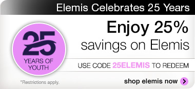 Save 25% on all Elemis products. Use promo code 25ELEMIS. Use promo code DISCOVERY.
