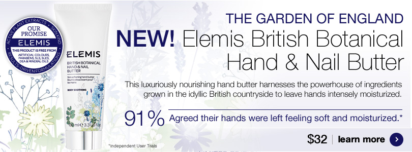 New Elemis British Botanical Hand and Nail Butter