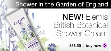 New Elemis British Botanicals Shower Cream $38.50