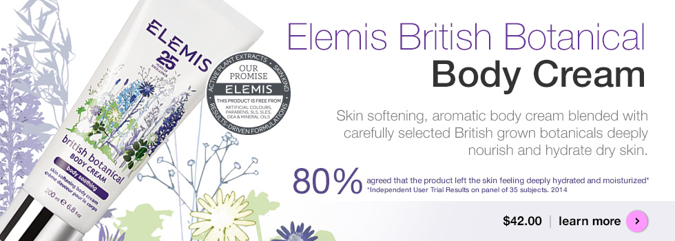 Elemis British Botanical Body Cream