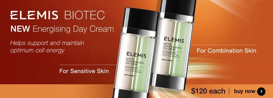 New Elemis Biotec Energising Day Cream