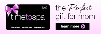 free $15 elemis gift card for mother's day on timetospa.com