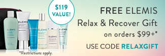 free elemis skin energising with orders of $99 or more on timetospa.com - use code WOWSKIN