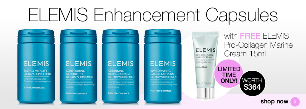 ELEMIS 3 Month Detox Program with free Pro-Collagen Marine Cream