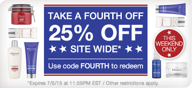 Summer Bonus: Save 25% sitewide. Use code FOURTH to redeem.