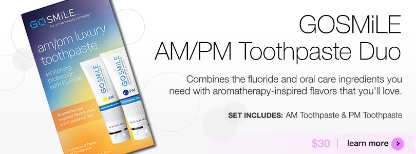 GoSmile AM/PM Toothpaste Duo | BUY NOW