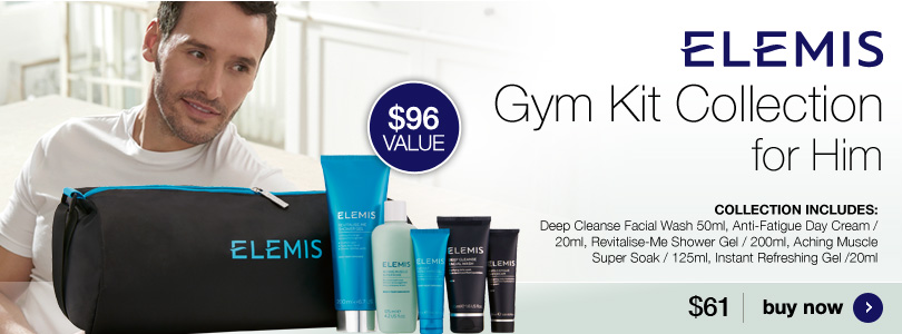 New Elemis Gym Kit Collection $61.00.
