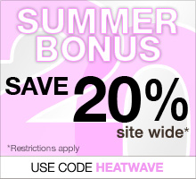 Summer Bonus: Save 20% on your order with code HEATWAVE