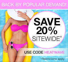 Save 20% with promo code HEATWAVE