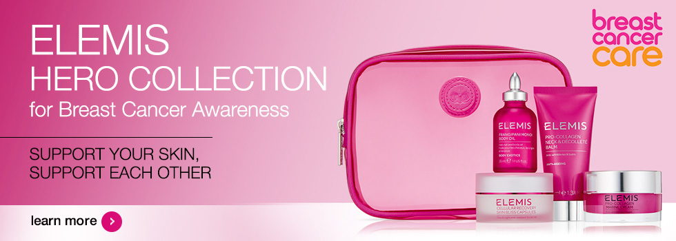 ELEMIS Hero Collection for Breast Cancer Awareness
