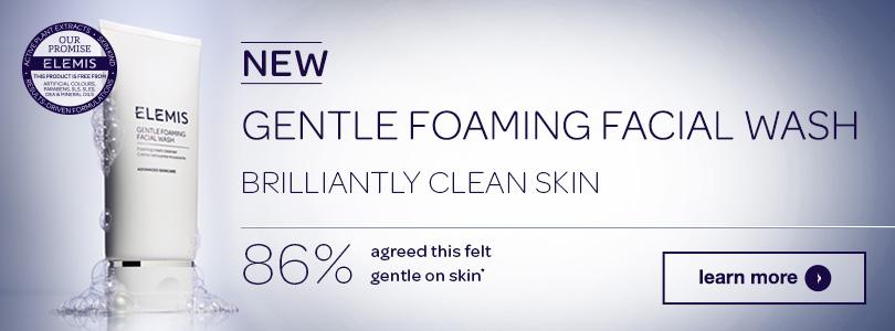 elemis gentle foaming facial wash