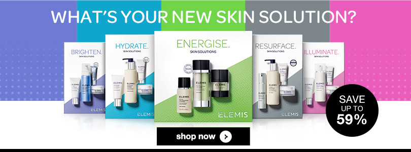 elemis skincare solution collections save up to 59% on timetospa
