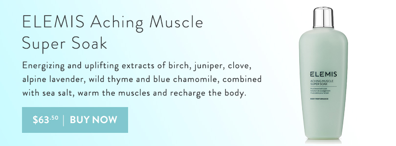 Energize and uplift with ELEMIS Aching Muscle Super Soak