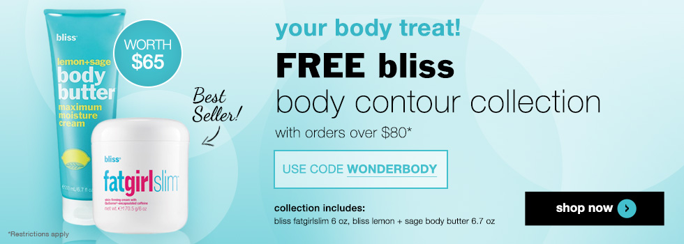 free bliss body contour collection