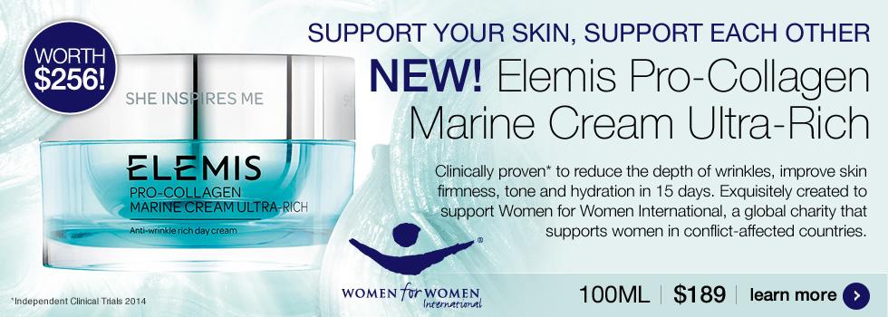 New Elemis Pro-Collagen Marine Cream Ultra-Rich