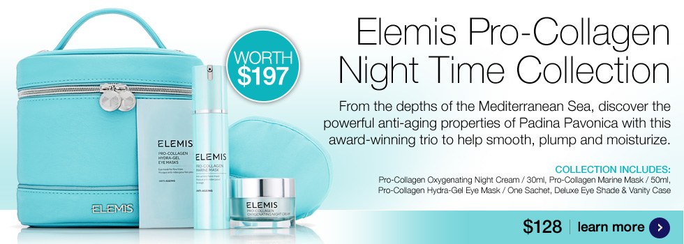 New Elemis Pro-Collagen Neck and Decollete Balm $78.50