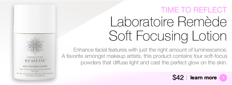 Laboratoire Remede Soft Focusing Lotion for luminouis skin