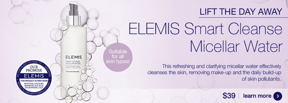 New ELEMIS Smart Micellar Water $39.00