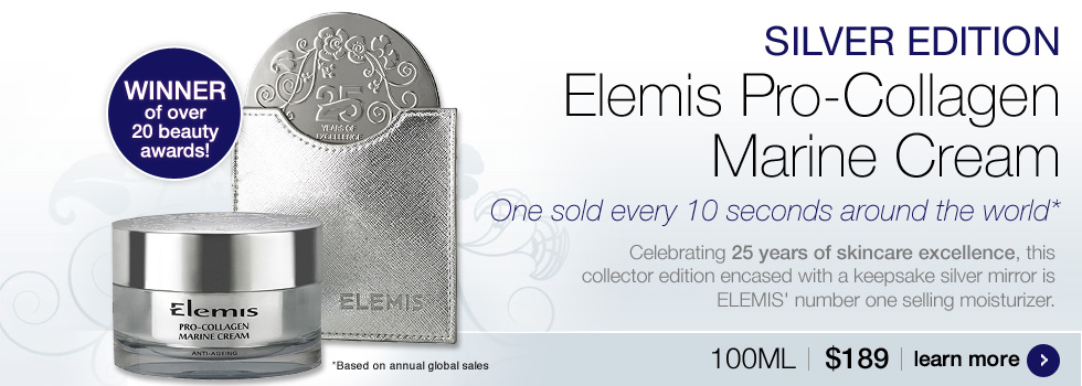 Elemis Pro-Collagen Marine Cream Silver Edition $189