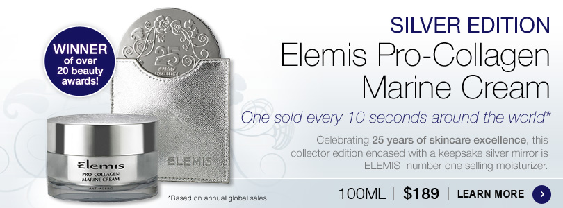 Elemis Pro-Collagen Marine Cream Silver Edition | BUY NOW $189