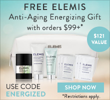 free elemis pro-collagen and biotec collection with promo code energized with $99+ orders on timetospa.com