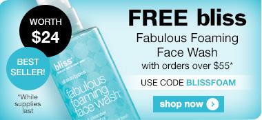 Free Bliss Fabulous Face Wash