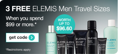 3 Free ELEMIS Travel Sizes
