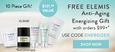 free elemis pro-collagen and biotec collection with promo code energized