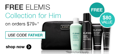 free elemis father's day gift worth $80 with $120 orders at timetospa.com