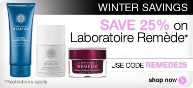 Save 25% on Remede products with code REMEDE25