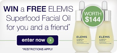 Win a Free Elemis Superfood Facial Oil