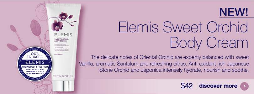 New Elemis Sweet Orchid Body Cream