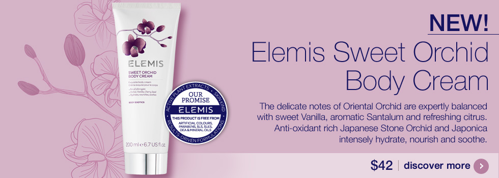 New ELEMIS Sweet Orchid Body Cream $42.00