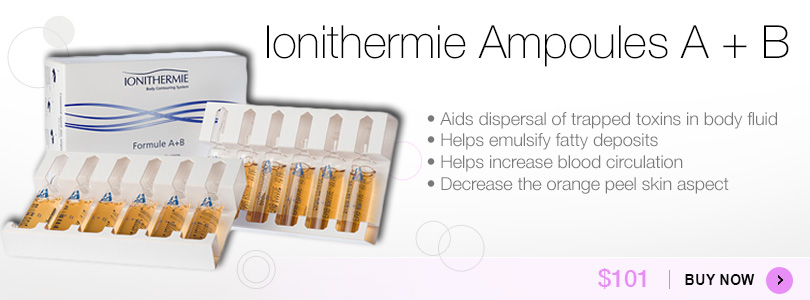 Buy Ionithermie Ampoules A+B for $101