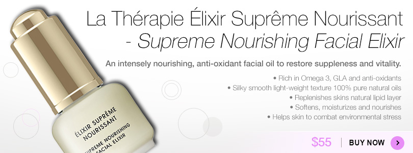 La Therapie Elixir Supreme Nourissant Supreme Nourishing Facial Elixir $55 | BUY NOW