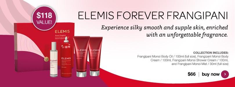New Elemis Forever Frangipani $66.00.