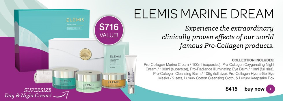 New Elemis Marine Dream Collection
