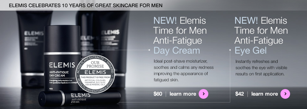 Elemis Men's Anti-Fatigue Day Cream and Eye Gel